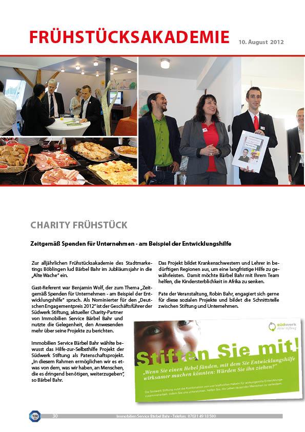 Charityfrühstück1