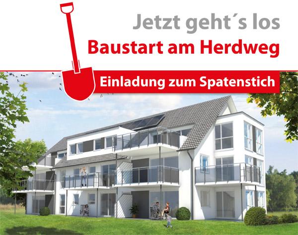 Spatenstich-Herdweg
